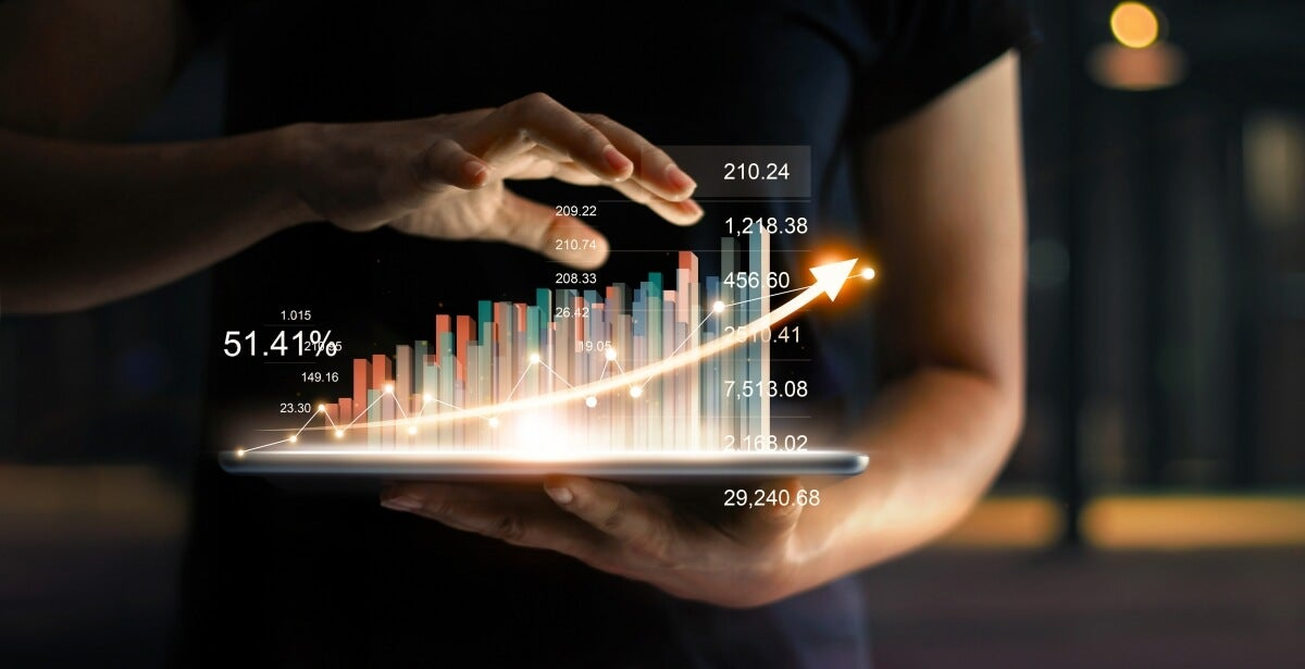 eBook: Applied Statistics 2020 - blog banner with hands manipulating statistics
